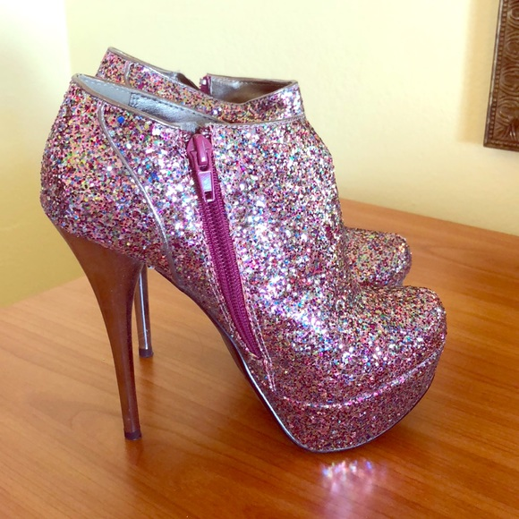 Qupid Shoes | Sparkly Stilettos | Poshmark